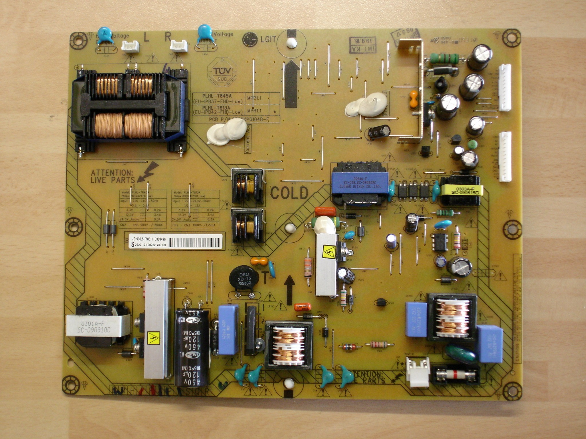 Power Board 2300kpg104b F For Lcd Tv Circuit Parts
