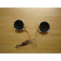 SPEAKERS QASO142-001 FOR JVC LT26C31B LCD TV